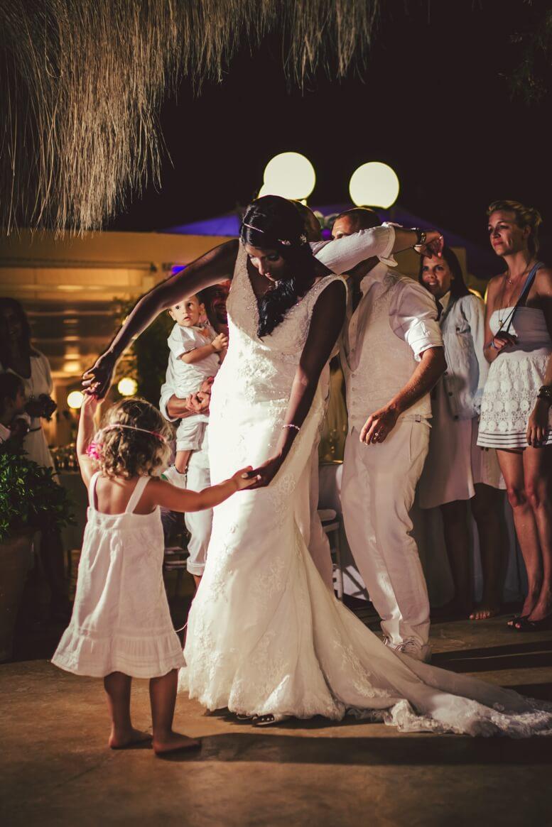 Brautpaar-Tanzen