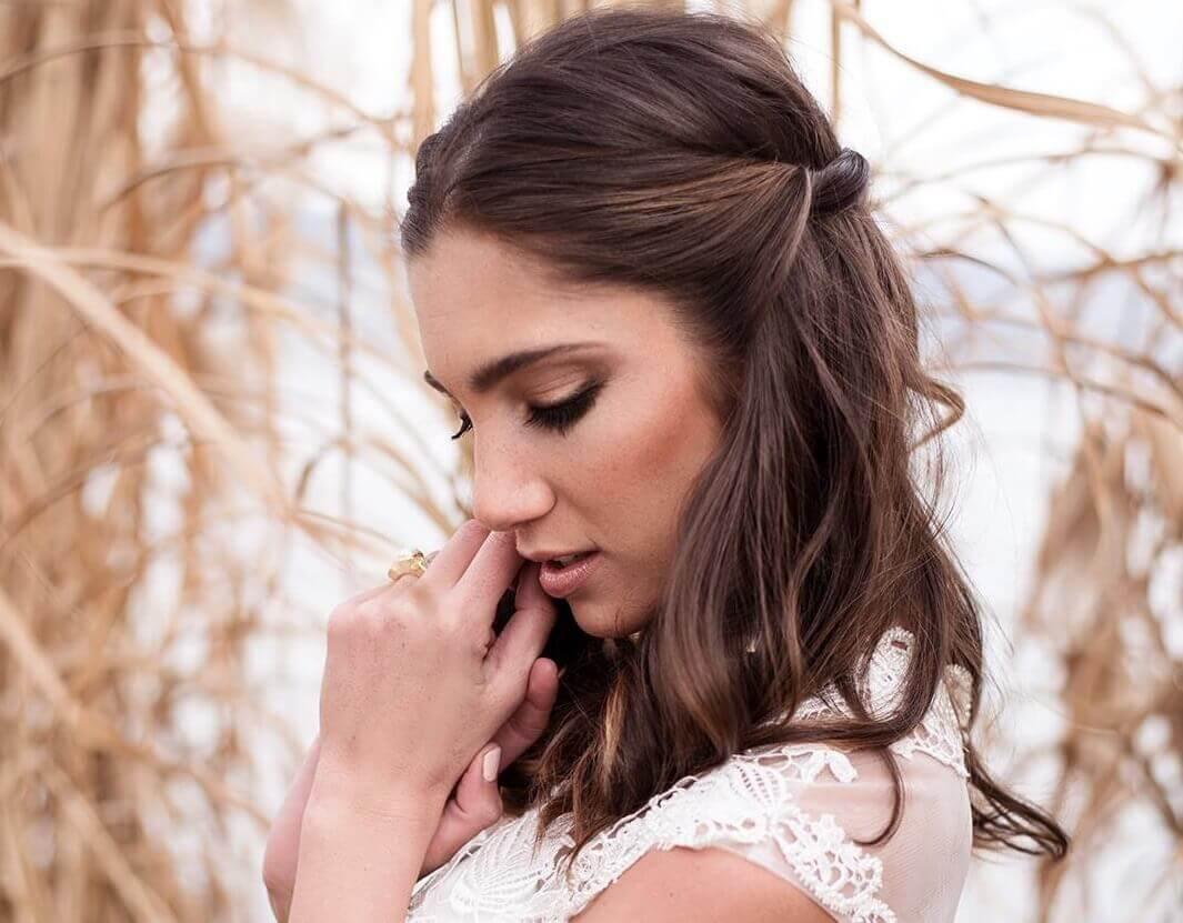Hochzeitsfrisur make up luzern